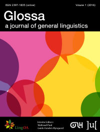 Glossa: Journal of General Linguistics